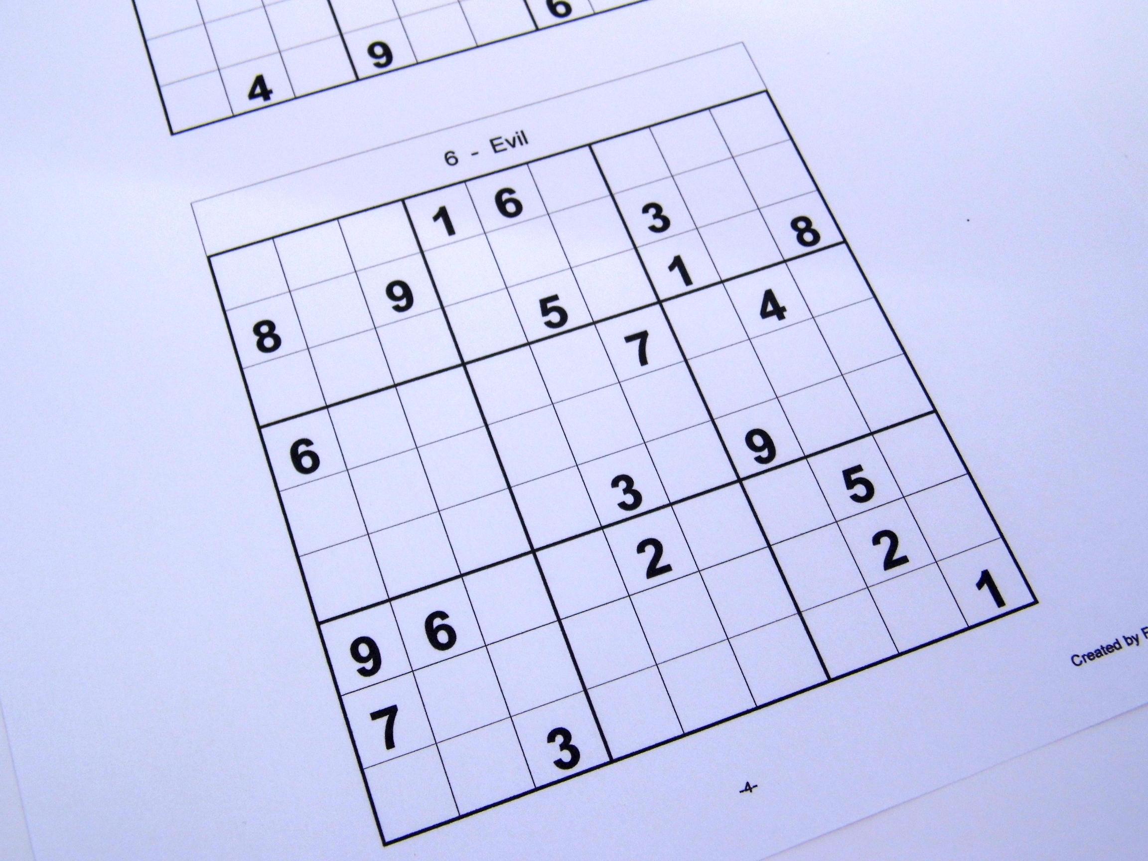 100+ Printable Sudoku Puzzles Pdf – yasminroohi