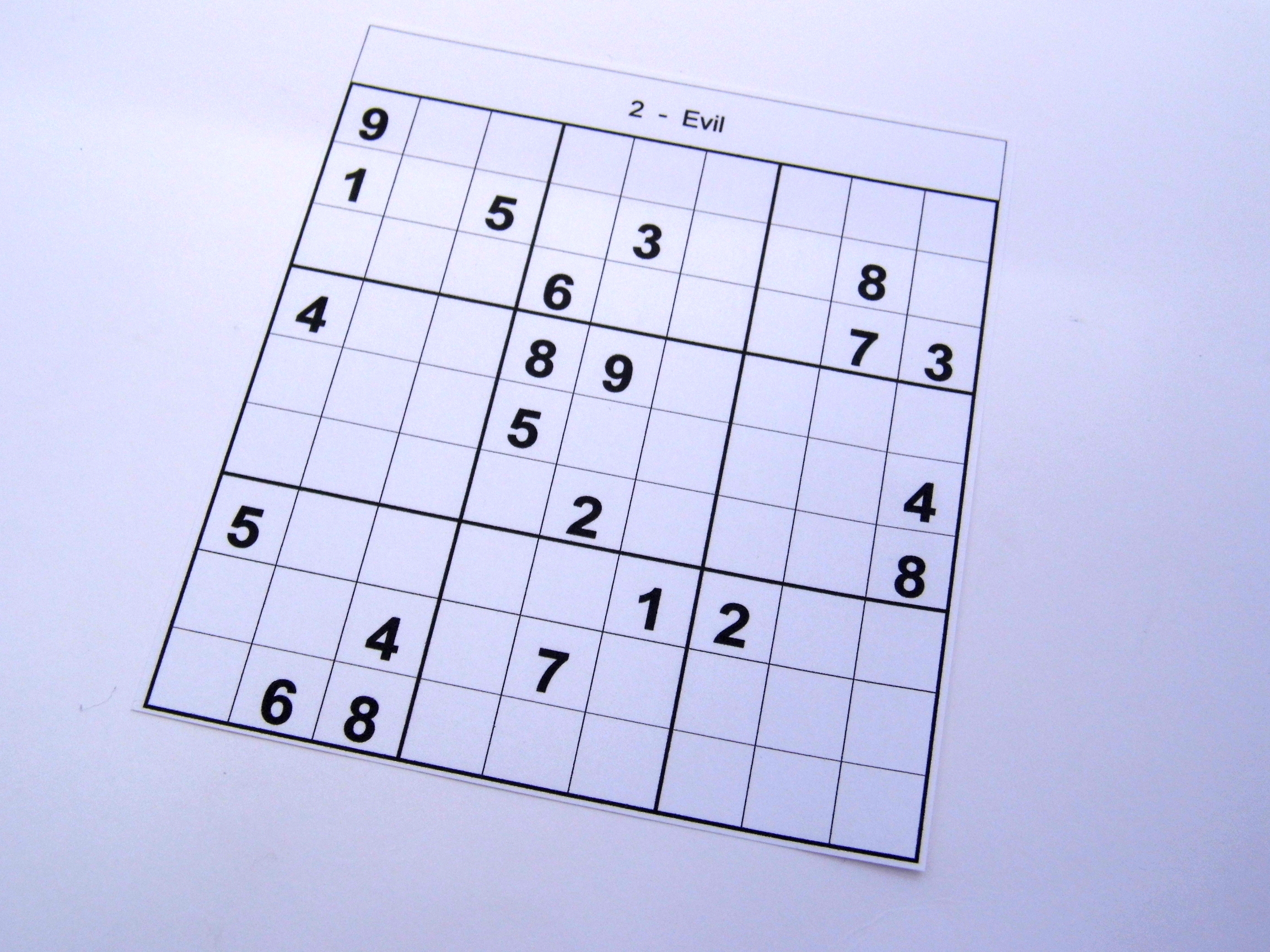 photograph relating to Printable Sudoku Puzzles Medium named Archive Puzzles 36 Medium Sudoku Puzzles Guides 1 towards 10