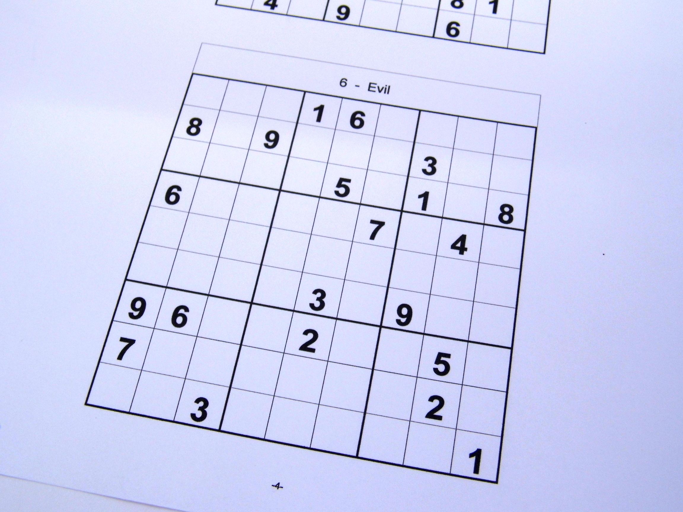 It's just a picture of Printable Sudoku 4 Per Page throughout easy