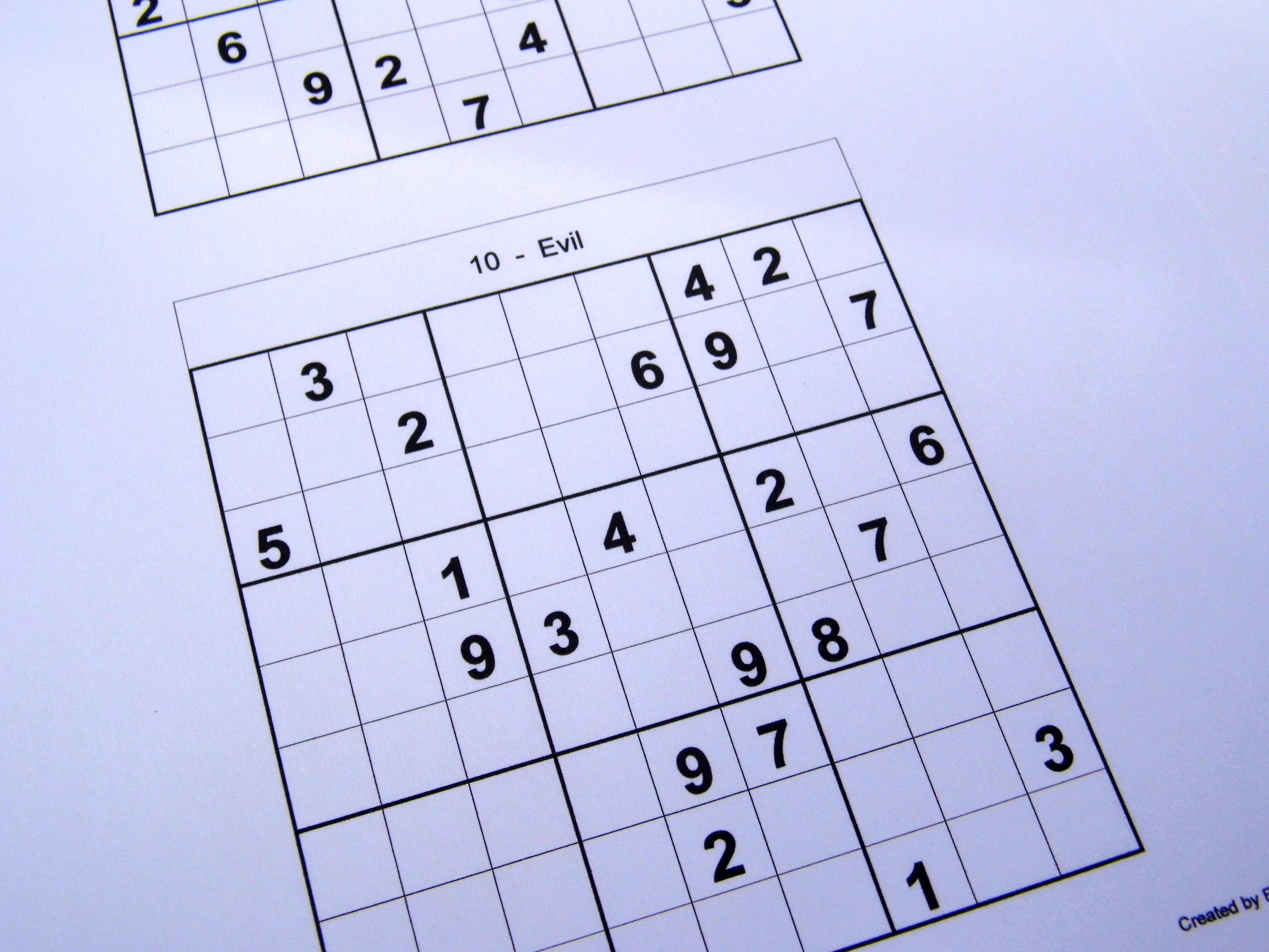 picture regarding Beginner Sudoku Printable known as rookie puzzles Free of charge Sudoku Puzzles